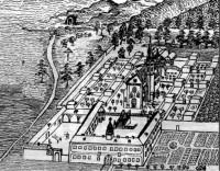 """Zoborský kláštor kamaldulov, prehliadky ruín areálu Zoborského kláštora so sprievodcom """"pátrom Filipom"""""""