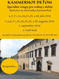 Slovenské banské múzeum Kammerhof- Dielnička, KAMMERHOF DEŤOM