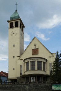 kostoly, remeselnícky dom v Pukanci, Kostol sv. Mikuláša, evanjelický kostol, remeselnícky dom s expozíciou Hrnčiarskeho múzea Jána Franka
